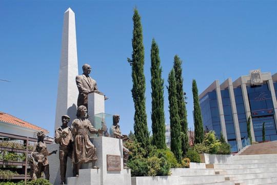 Plaza de Francisco Sandoval de Navalcarnero