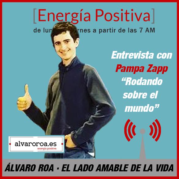 """224. Entrevista a Pampa Zapp """"Rodando sobre el mundo"""""""