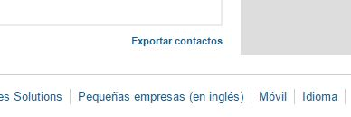 Exportar Contactos en LinkedIn