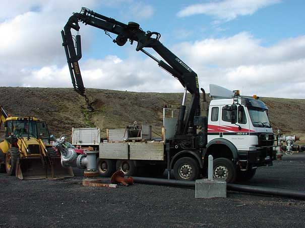 Testrunning a well logging equipment