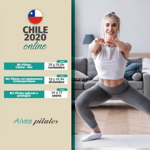 Curso pilates Chile online 2020