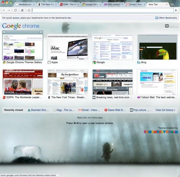 Google Chrome Mac Os X