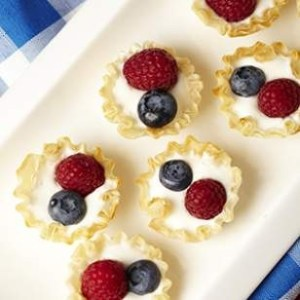 Mini Berry Cream Pies - Eating Well