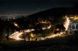 Jalan Ke Puncak Bogor Malam Hari