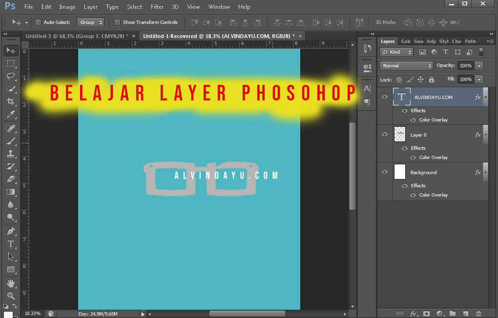 Memahami Susunan Layer Pada Photoshop Agar Paham Dasarnya 1
