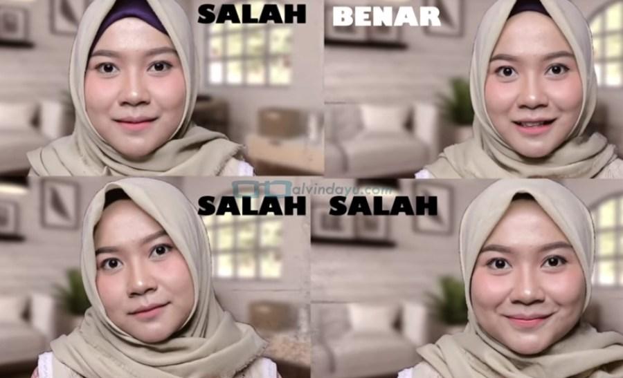 Cara Memakai Hijab Pashmina Untuk Wajah Bulat Dan Pipi Tembem Hijabfest