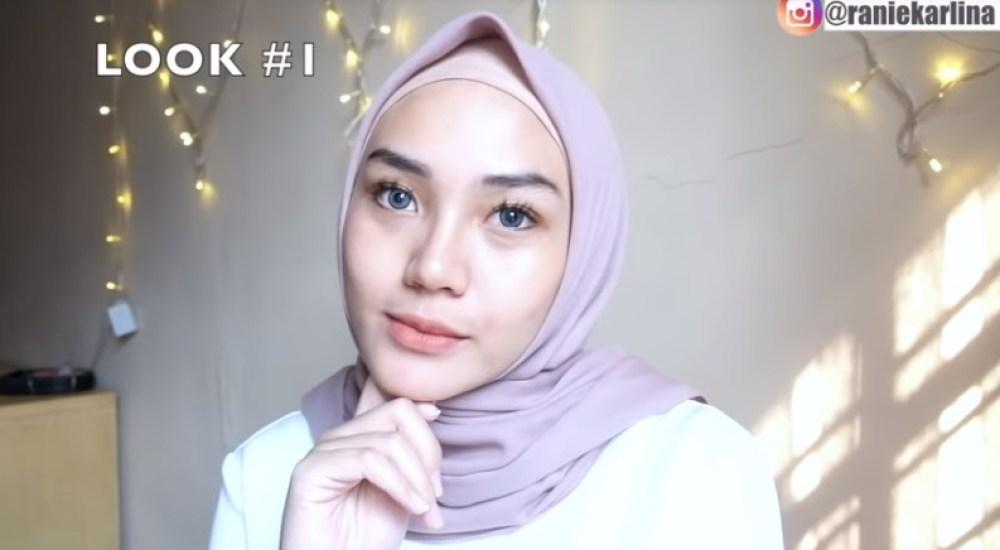 Cara Memakai Hijab Segi Empat Simple dan Mudah Sederhana SELESAI