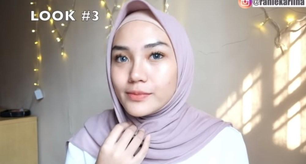 Cara Memakai Jilbab Segi Empat Kreasi Sederhana, Modern dan Kekinian SELESAI