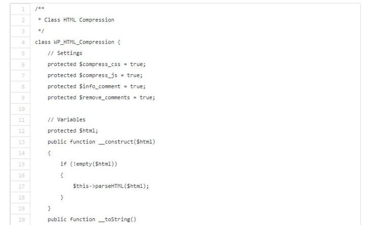 Menambah Kecepatan Loading WordPress Dengan HTML Compression
