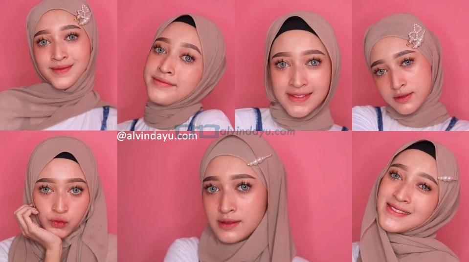 Tutorial Hijab Pashmina Simple dan Mudah