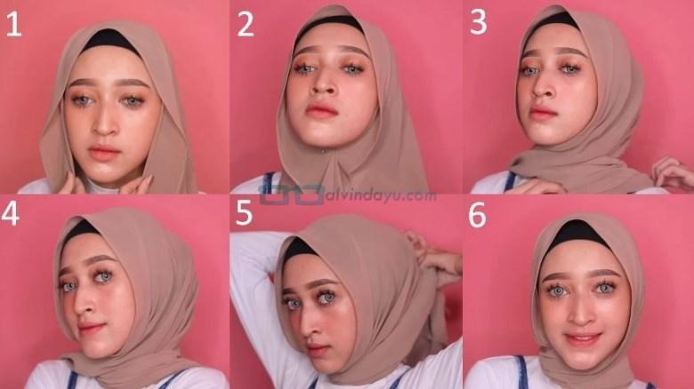 Tutorial Hijab Pashmina untuk Remaja Simple dan Mudah