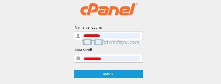 Login cPanel Hosting