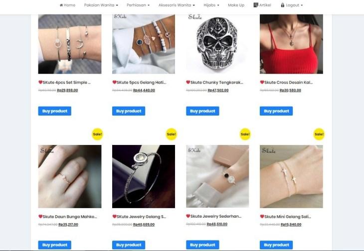 Menampilkan Produk Woocommerce di Website Lain