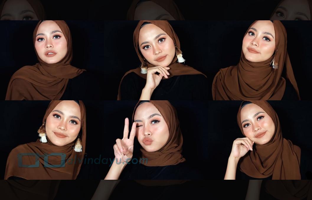 Tutorial Hijab Pashmina Diamond Tumbnail