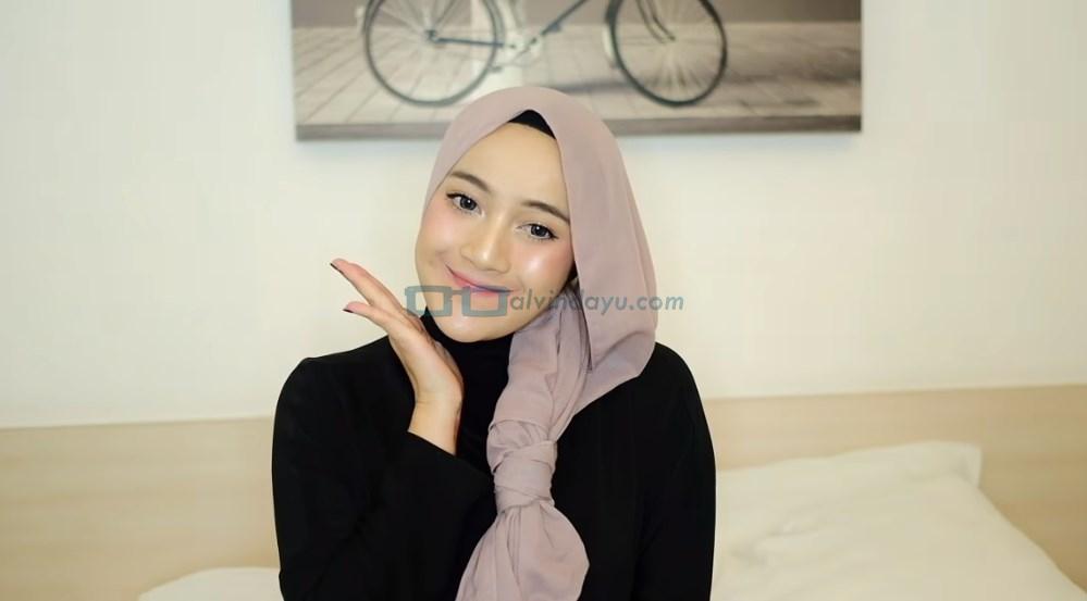 Tutorial Hijab Pashmina Pesta SELESAI