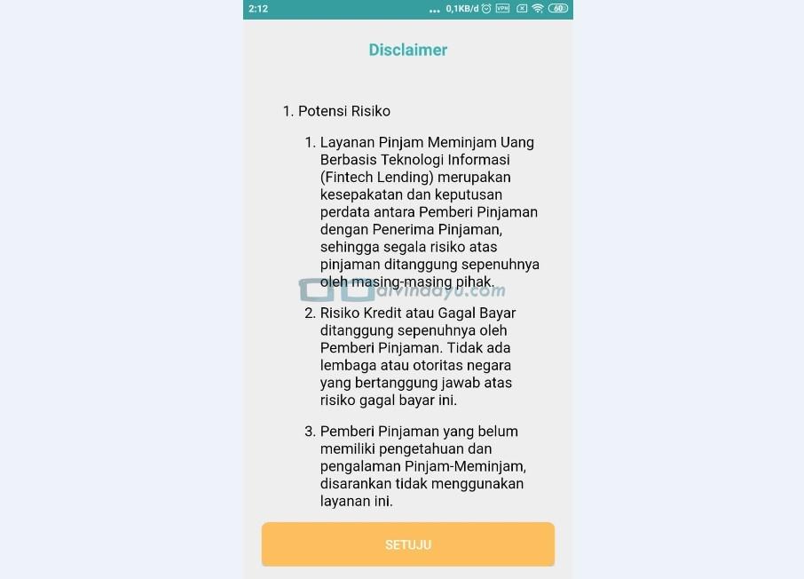 Discalimer Indodana