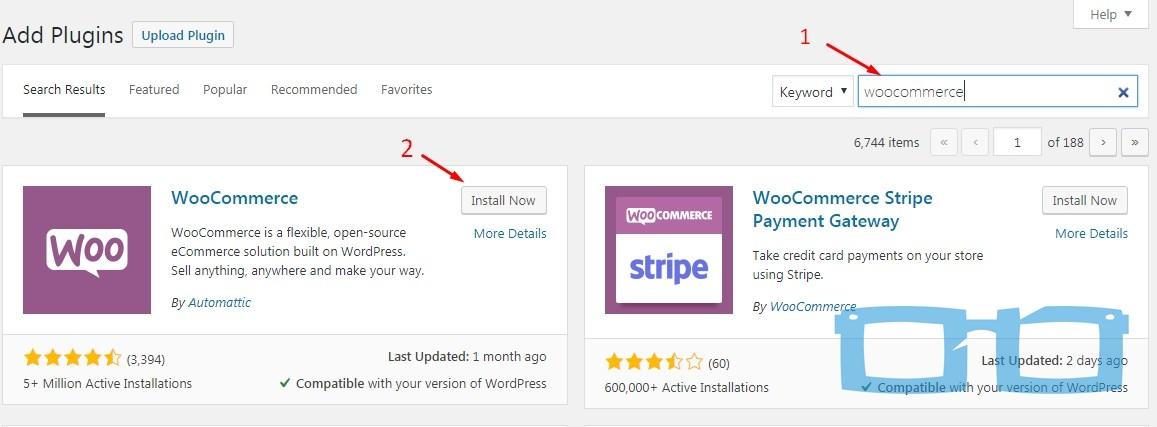 Install Woocommerce di WordPress