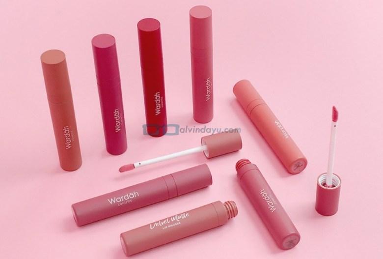 Review Wardah Colorfit Velvet Matte Lip Mousse