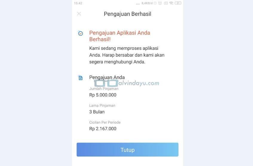 Status Pinjaman