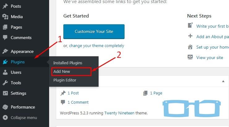Tambah Plugin di WordPress