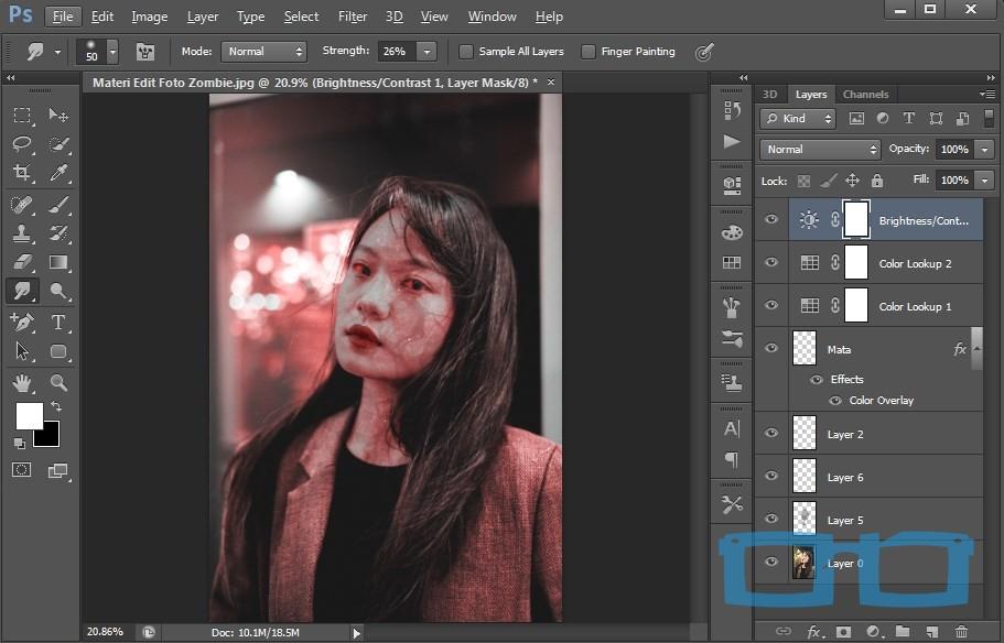 Cara Edit Foto Zombie Dengan Photoshop Paling Simple Dyah Ayu Alvinda
