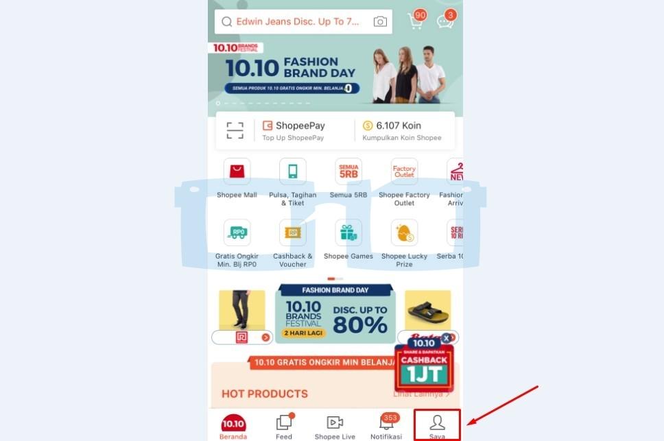 Cara Ganti Nomor HP di Shopee Lewat Chat dengan Shopee