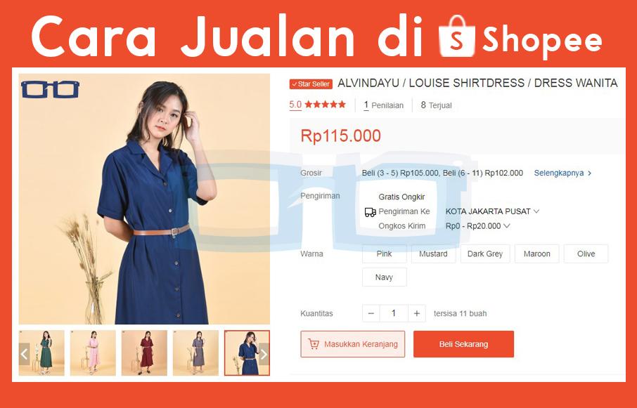 Cara Jualan di Shopee Indonesia