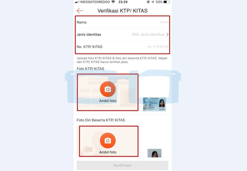 Cara Verifikasi KTP Shopeepay