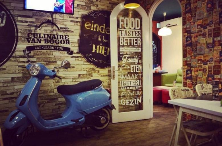 Culinaire Van Bogor Tempat Nongkrong di Bogor Malam Minggu