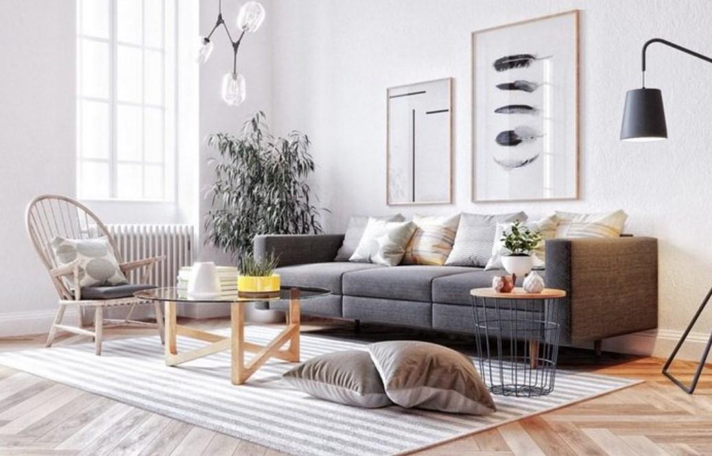 Gambar Model Furniture Minimalis Terbaru Ruang Keluarga Nyaman