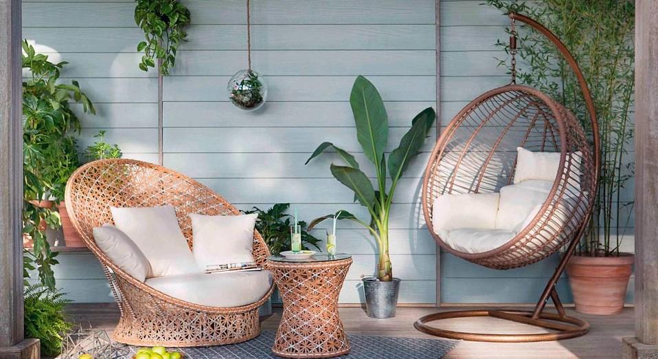 Model Furniture Minimalis Modern Taman Teras Depan Rumah
