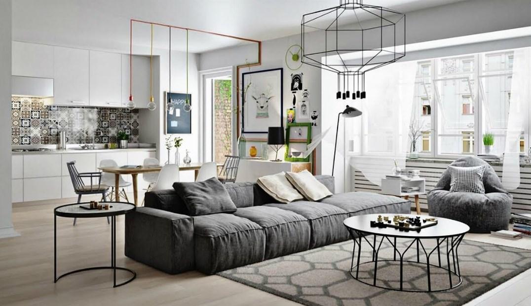 Model Furniture Minimalis Ruang Tamu Nyaman