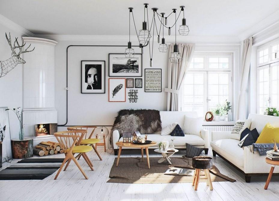 Model Furniture Minimalis Ruang Tamu Skandinavia
