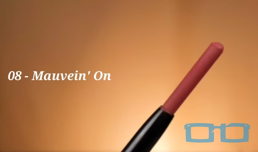 Review Shade 08 Mauvein On PIXY Make It Glow Crayonttention