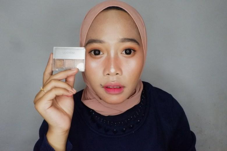 Wardah EyeExpert Nude Colours Eyeshadow Classic