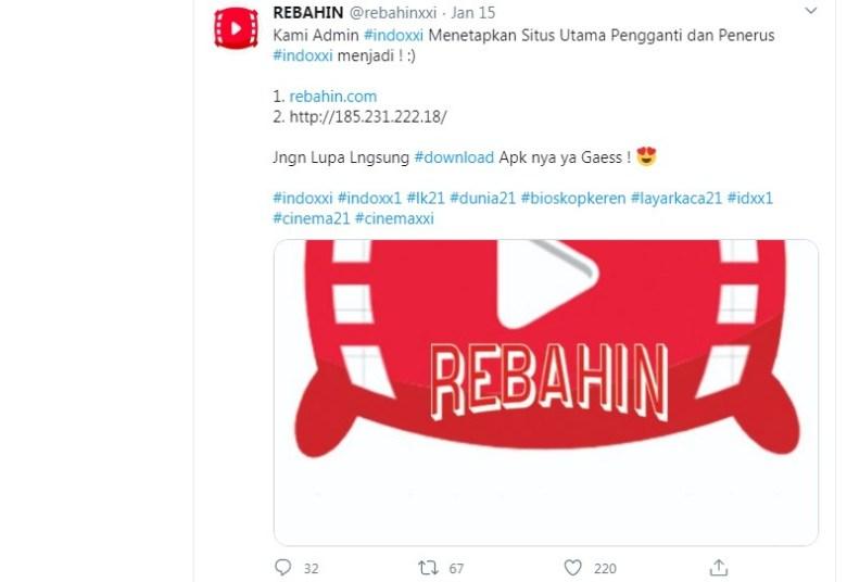 Rebahin Nonton Movie Twitter