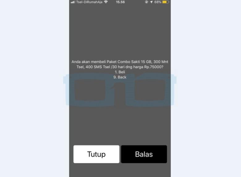 Paket Combo Sakti 15GB Telkomsel