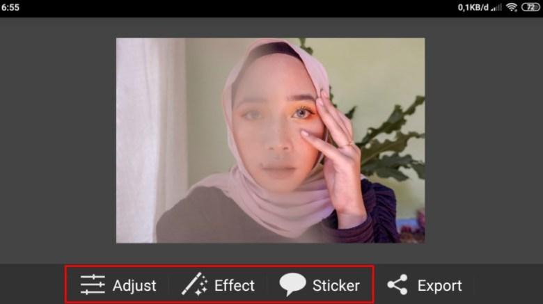 Mulai Edit PicSay Pro Apk