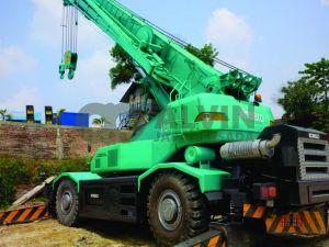 Rafter Crane 45 Ton  AlvinJayaPersada.COM - Provider Crane dan Alat Berat. Call Center - 0813 6567 8299