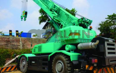 Video Rental Crane Rafter Crane 45 Ton Pekanbaru Riau