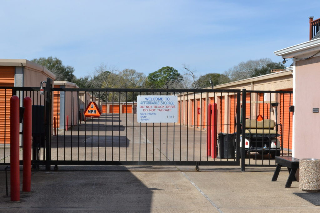 Self Storage Security at Affordable Storage Alvin TX