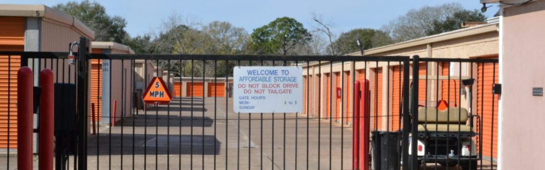 Store your stuff at Affordable Storage Alvin Tx Keep Your Stuff Safe