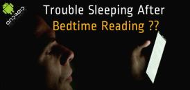 Trouble Sleeping After Bedtime Reading? An App To Help