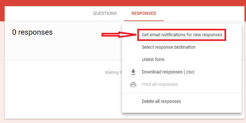 Get notified by mail for Google Form submissions & Spreadsheet ...