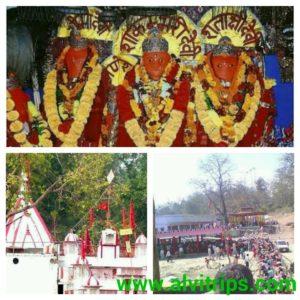 शाकुम्भरी देवी मंदिर के सुंदर दृश्य