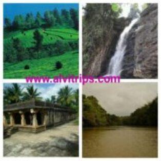 वायनाड पर्यटन स्थलों के सुंदर दृश्य