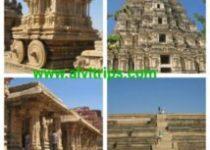 हम्पी की ऐतिहासिक धरोहरों के सुंदर दृश्य