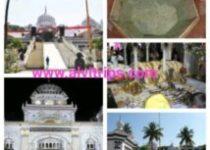 गुरूद्वारा नानक झिरा साहिब के सुंदर दृश्य