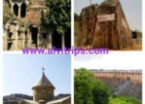 सोनभद्र पर्यटन स्थलों के सुंदर दृश्य