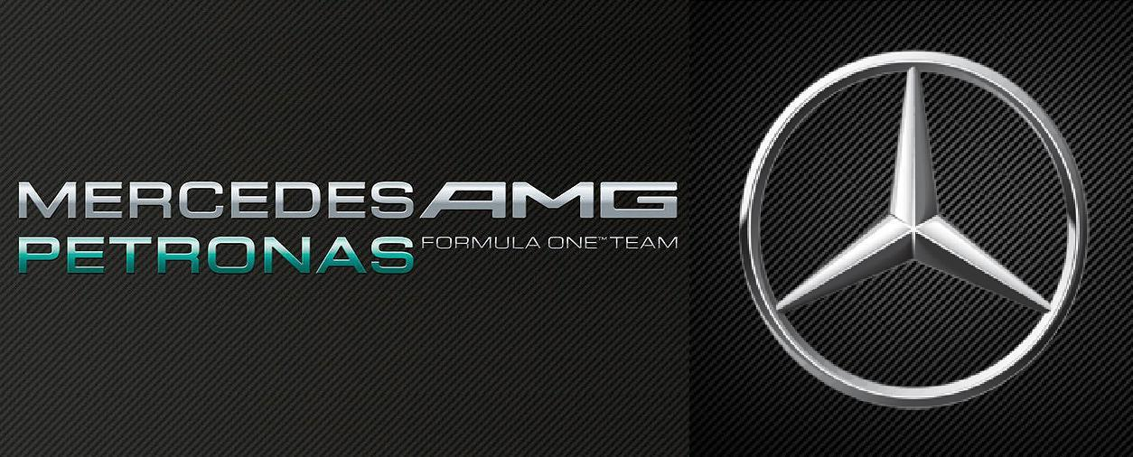 Mercedes amg petronas f1 team logo al volante magazine for Mercedes benz f1 shop